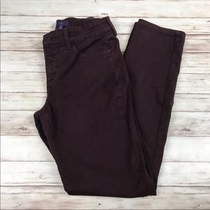 NYDJ Not Your Daughters Jeans Purple Alina Skinny